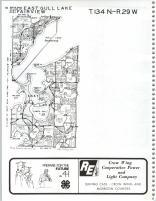 East Gull Lake, Fairview T134N-R29W, Cass County 1985